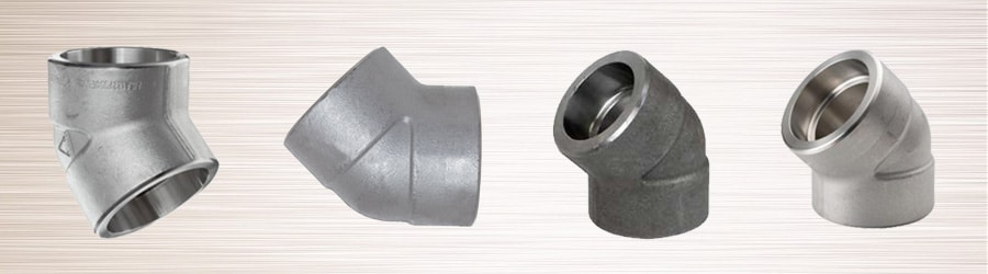 Forged 45° Socket weld Elbow