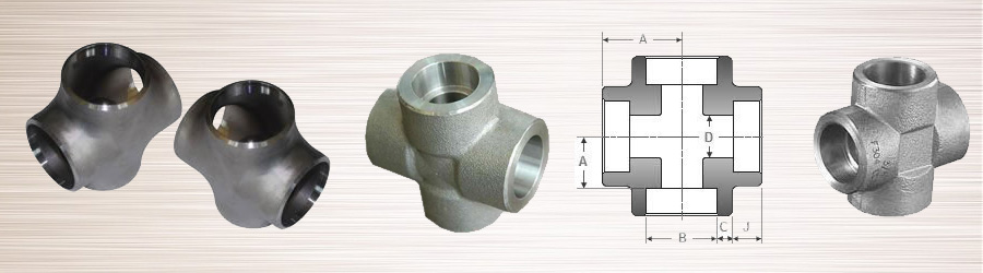Forged Socket weld Equal Cross
