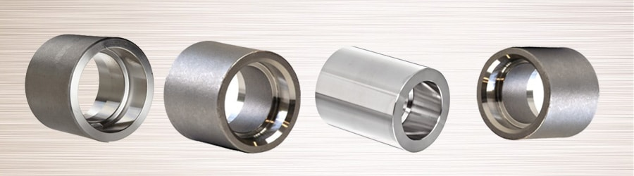 Nickel Alloy Forging : Forged socket weld full coupling stainless steel