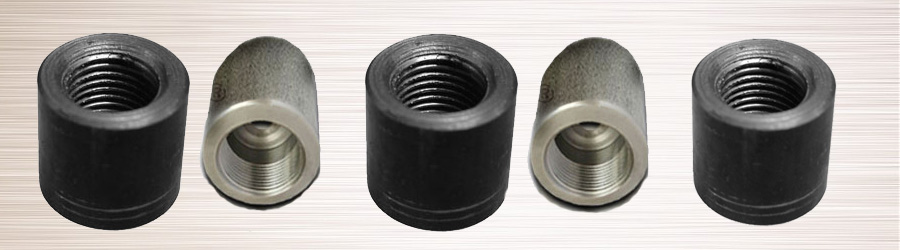 Forged screwed threaded welding boss stainless steel